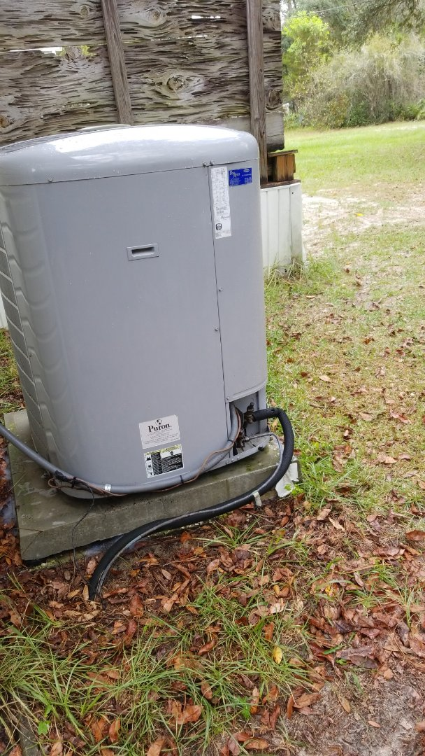 Dunnellon, FL - Check up on a carrier infinity 4 ton heat pump ac system