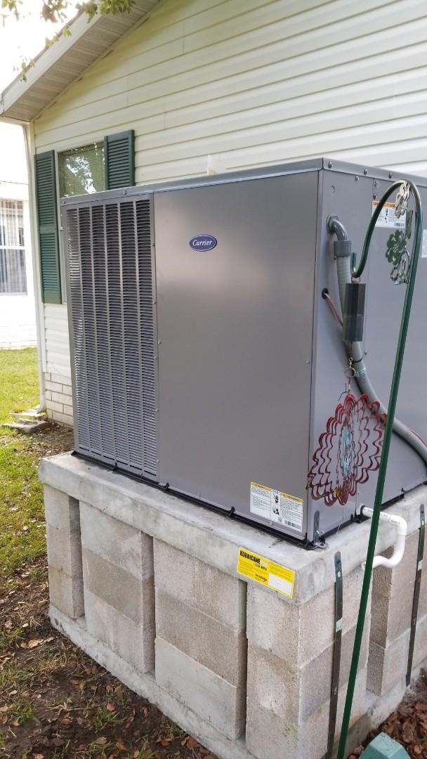 Dunnellon, FL - Blower will not shut off on a carrier 3.5 ton heat pump