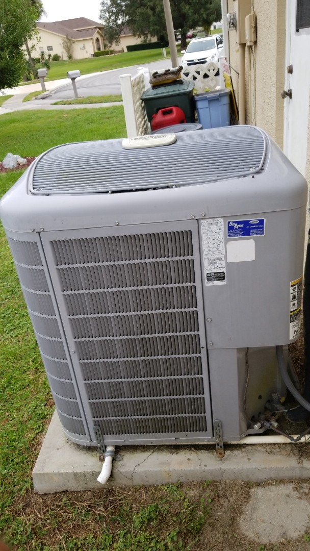 Lecanto, FL - No cool on a carrier infinity 4 ton heat pump ac system