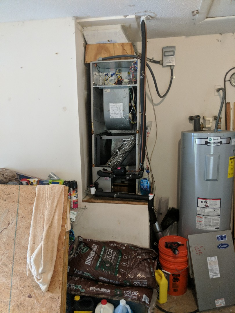 Crystal River, FL - Annual maintenance two and a half ton carrier heat pump