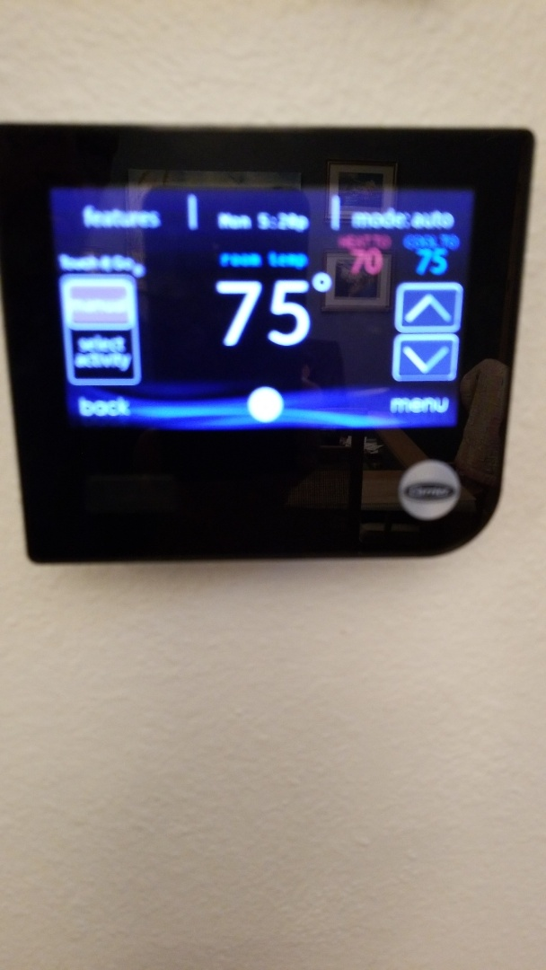 Beverly Hills, FL - No stat on a carrier 4 ton infinity heat pump ac system