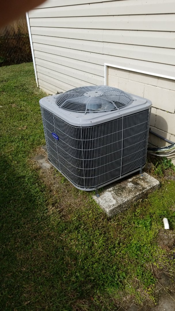Homosassa, FL - Check up on a carrier 3 ton heat pump ac system