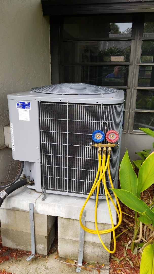 Homosassa, FL - Check up on a 3.5 ton carrier heat pump ac system