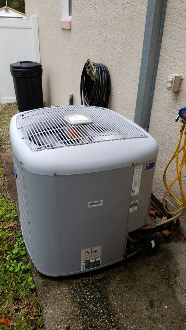 Homosassa, FL - Check up on a 2 ton carrier heat pump ac system
