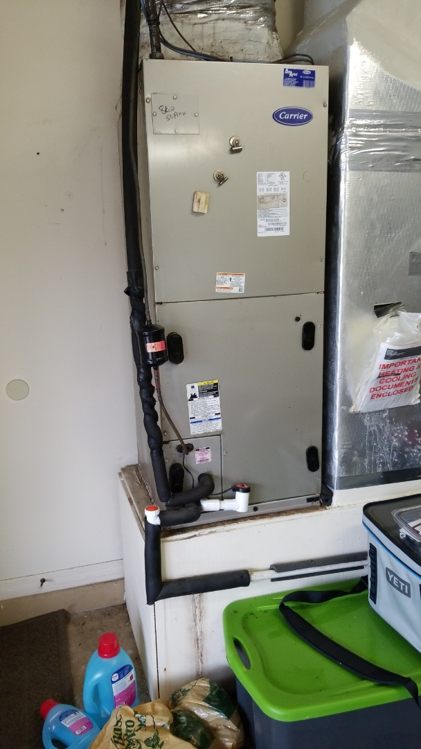 Homosassa, FL - Blower fault em code on a carrier infinity 4 ton heat pump ac system