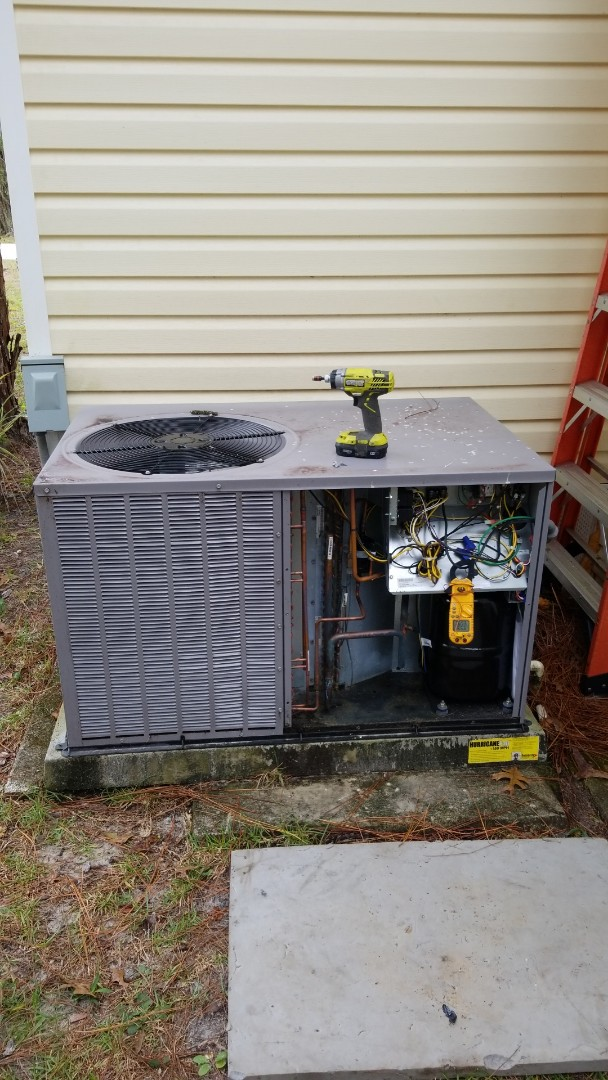 Homosassa, FL - No heat on a Payne 3 ton ac pkg unit with strip heat