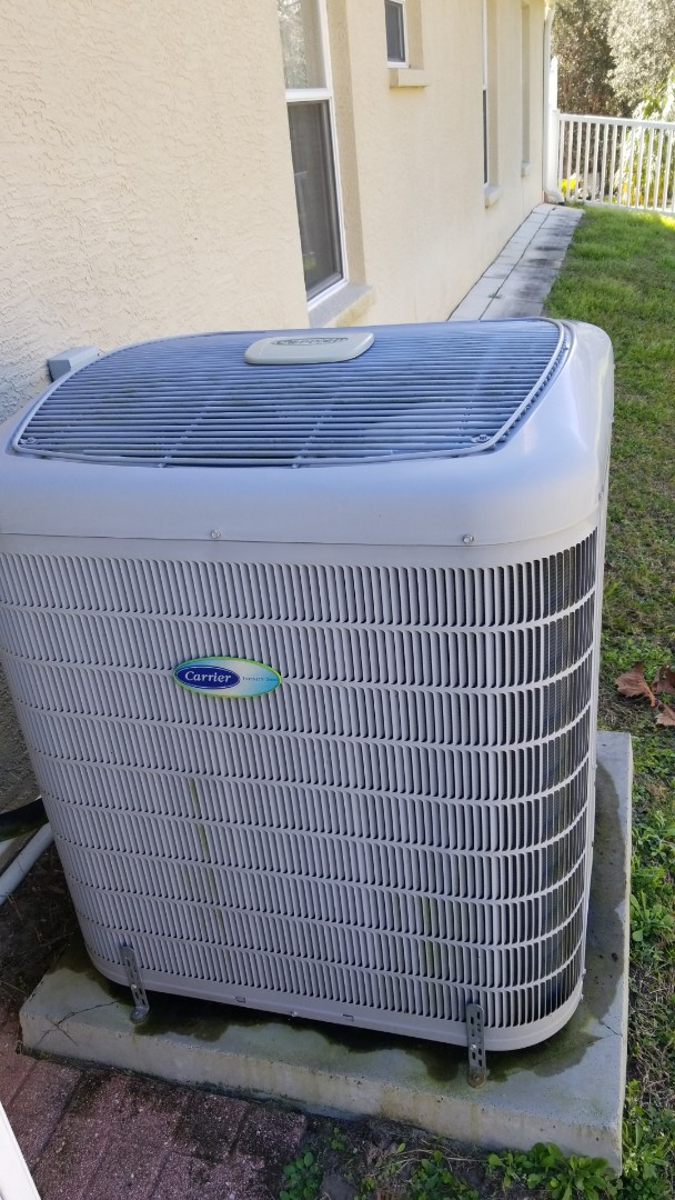 Lecanto, FL - REPLACE bad outdoor fan motor on a carrier infinity 3ton heat pump ac system