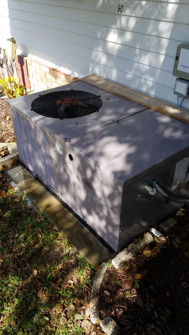 Crystal River, FL - Check up on a 3 ton pkg unit ac with strip heat