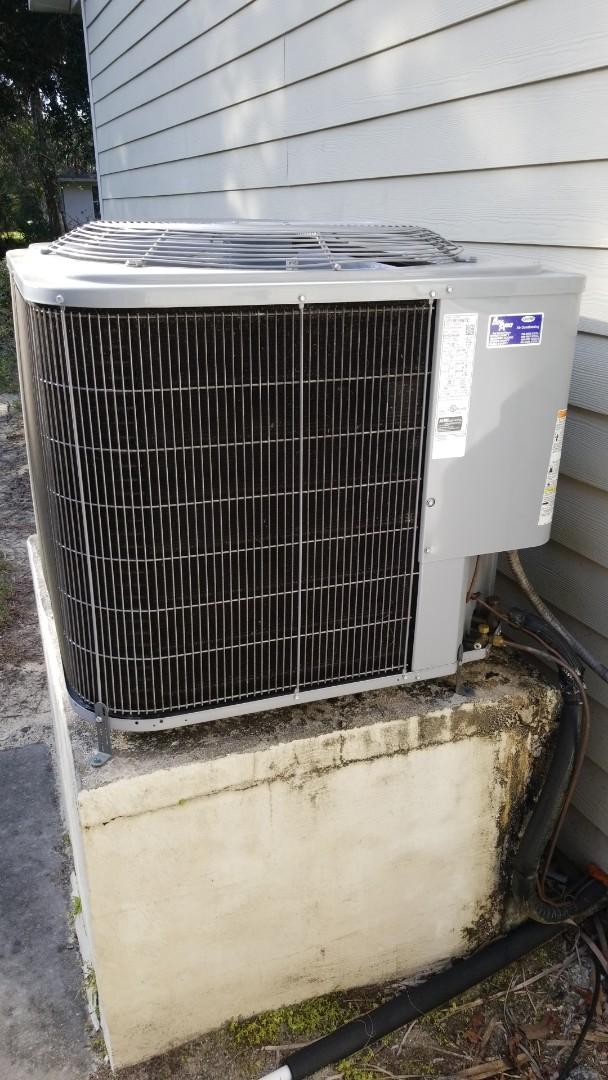 Homosassa, FL - No cool on a carrier 2ton heat pump ac system