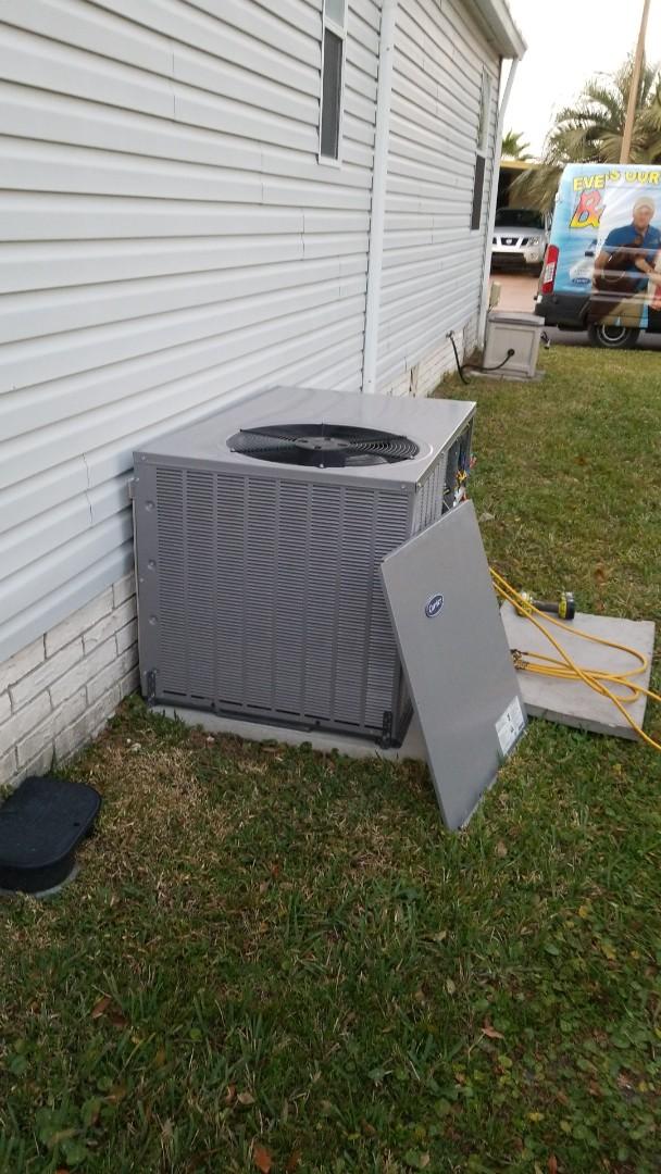 Homosassa, FL - No cool on a carrier 3ton ac pkg unit with strip heat