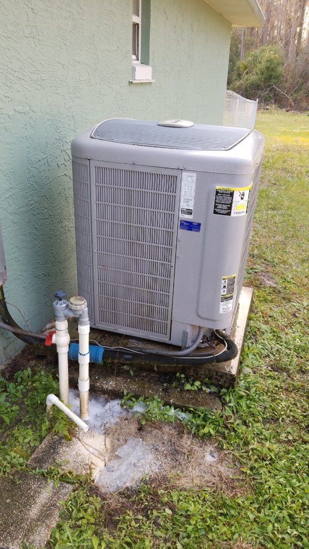 Crystal River, FL - Check up on a carrier infinity 3ton heat pump ac system