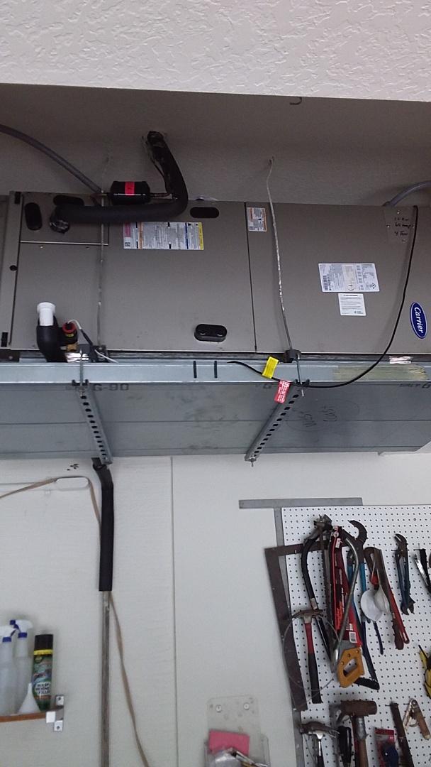 Homosassa, FL - Check up on a 4 ton carrier heat pump