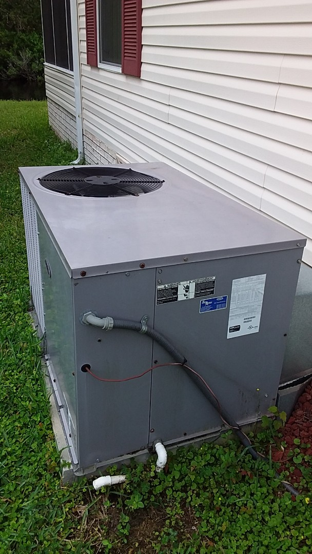Homosassa Springs, FL - Check up on a carrier 3ton ac pkg unit with strip heat