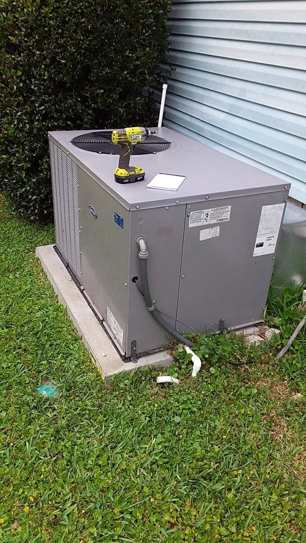 Homosassa Springs, FL - No cool on a 3ton carrier pkg ac system