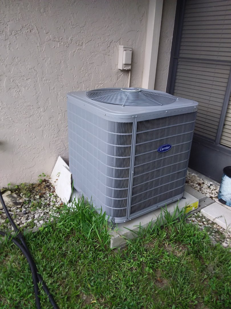 Check up on a carrier 3ton heat pump