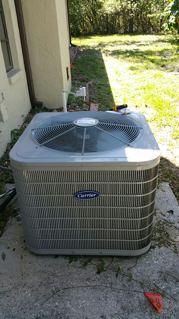 Check up on a carrier heat pump system in homosassa