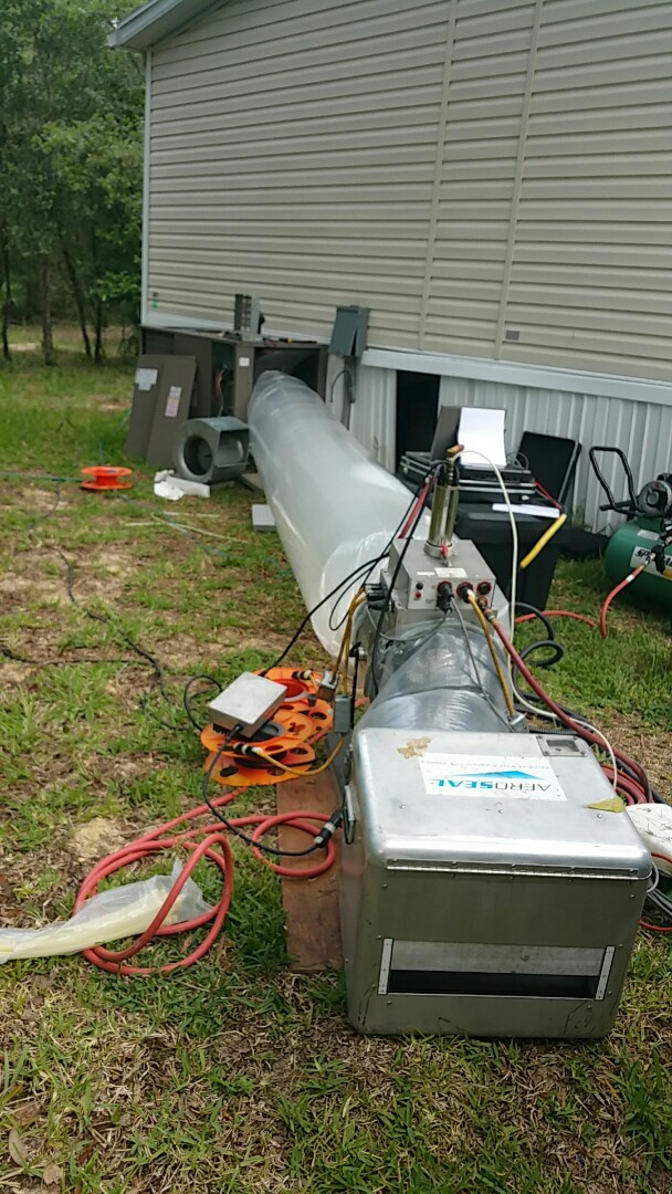 Weeki Wachee, FL - Aeroseal duct seal on a 5 ton Revolv pkg ac system