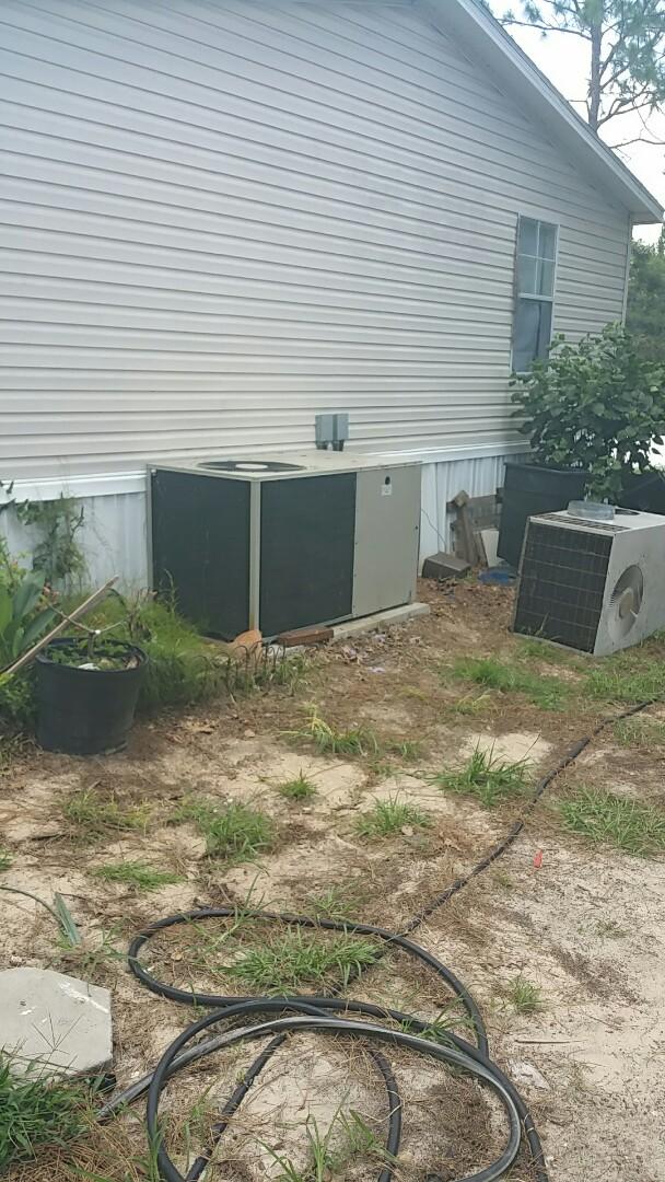 Floral City, FL - Indoor blower module bad on a nordyne 5 ton ac pkg unit