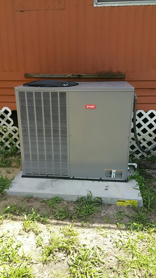 Inglis, FL - Replace bad indoor motor module on a Bryant 3.5 ton heat pump ac pkg unit