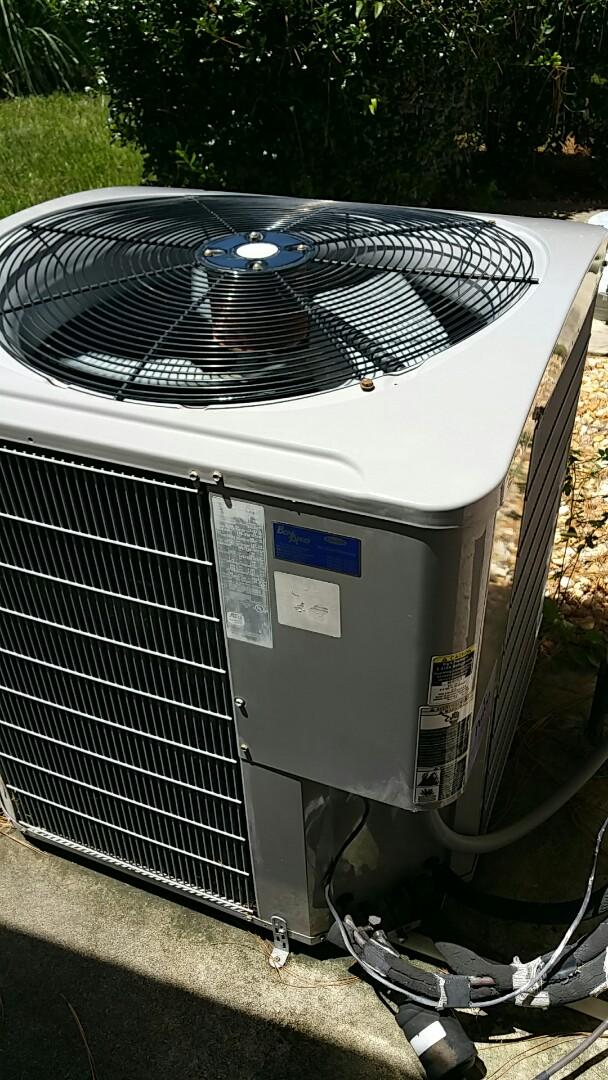 Homosassa, FL - Check up on a carrier 3.5 ton heat pump ac system