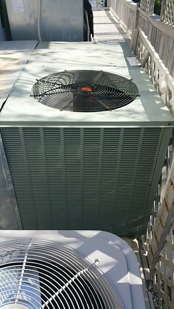 No cool on a 4 ton rheem heat pump ac pkg unit