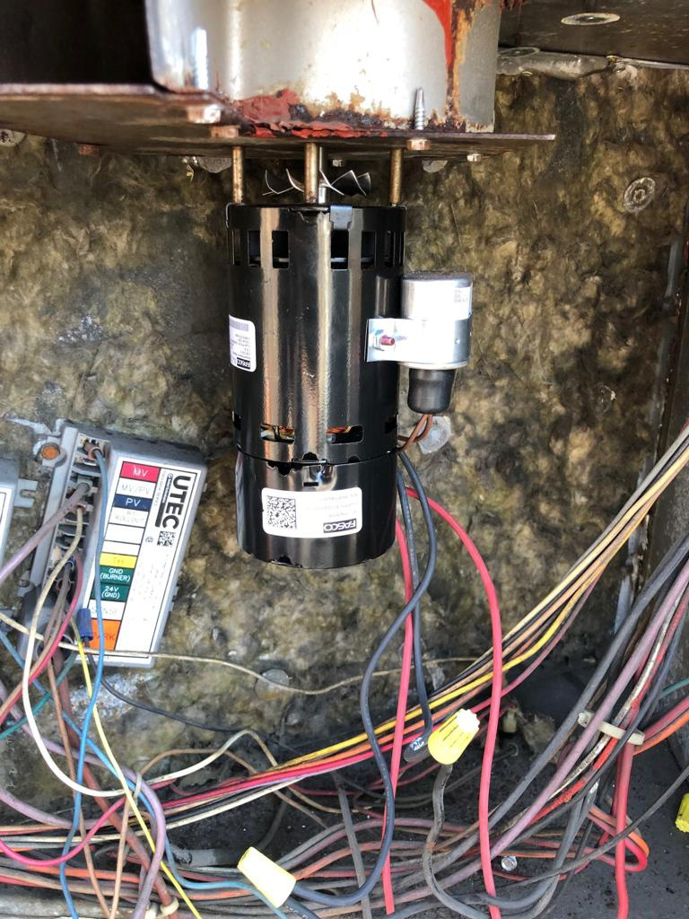 Eatontown, NJ - Commercial Customer called that its freezing in the space and the heat is not working.  We diagnosed the York furnace  and found a faulty inducer motor. Performed the inducer motor replacement as needed. HVAC unit is now heating efficiently. We suggest performing hvac maintenance