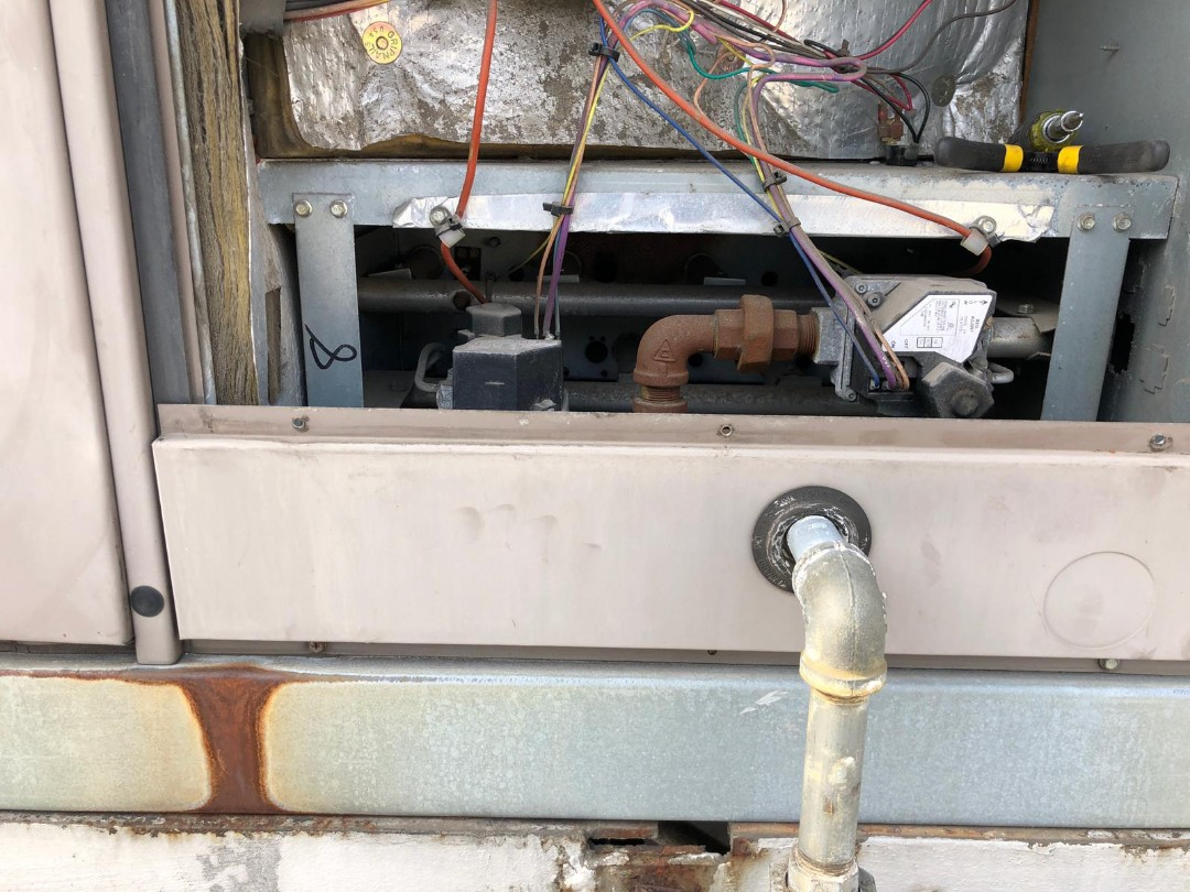 Union, NJ - York HVAC repair. Rewired unit