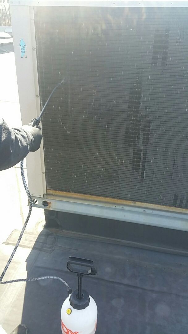 Carrier HVAC Coil cleaning