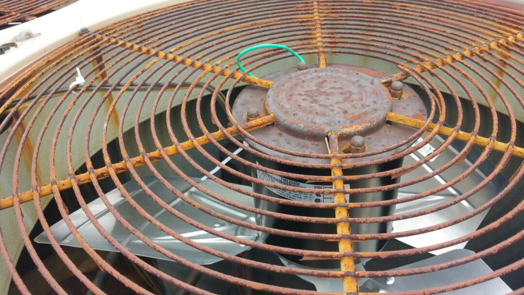 Edison, NJ - Condenser fan motor replacement