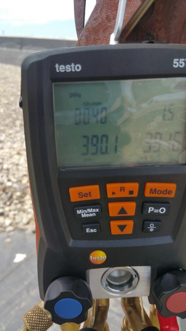 Linden, NJ - Pressure testing system