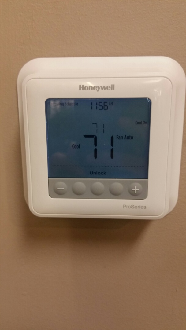 Union, NJ - Installing new 2 stage thermostat