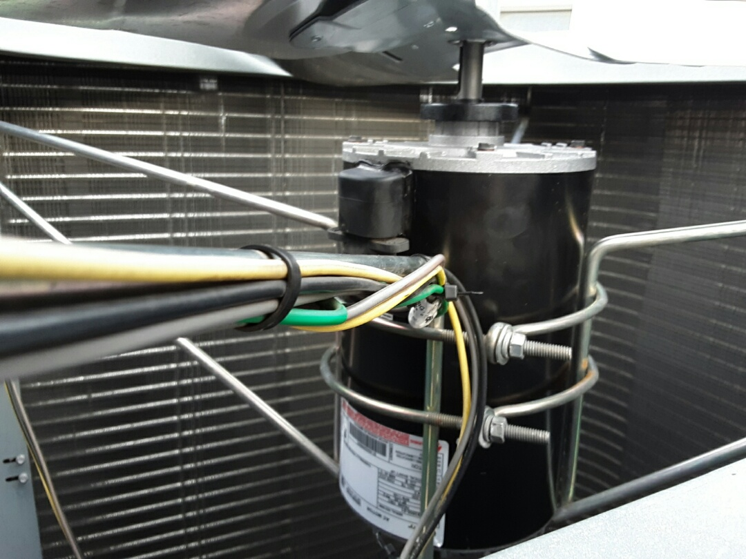Mount Olive Township, NJ - Condenser fan motor replacement
