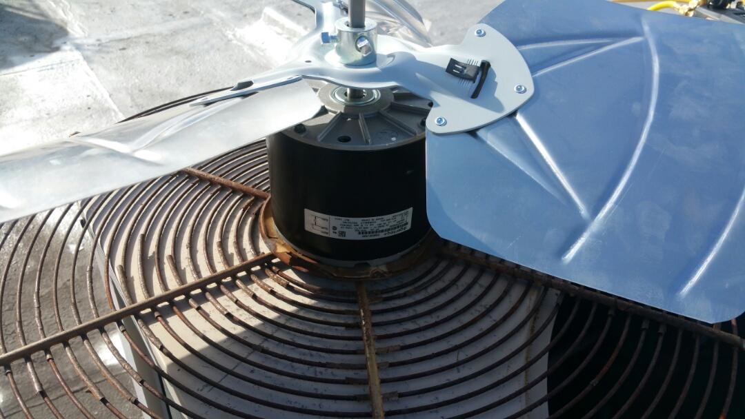Westfield, NJ - Replacing condenser fan motor