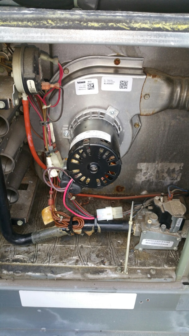 Newark, NJ - Inducer motor replacement