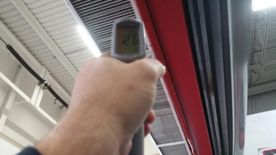 Wayne, NJ - No heat call vestibule hanging heater fixed