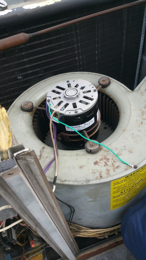 Paterson, NJ - Blower motor replacement