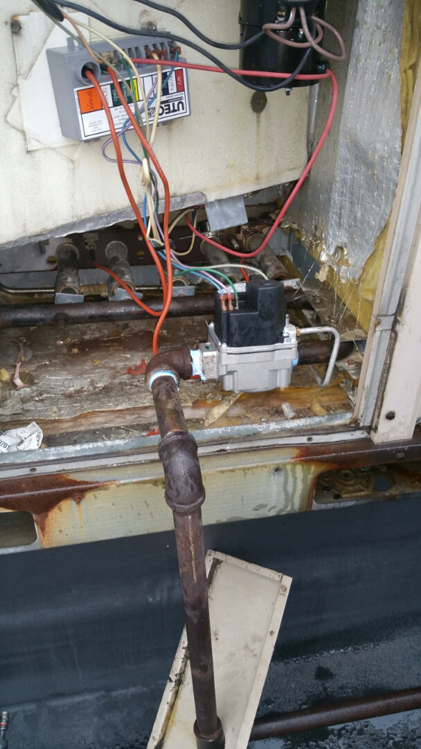 Chester, NJ - Gas valve replacement