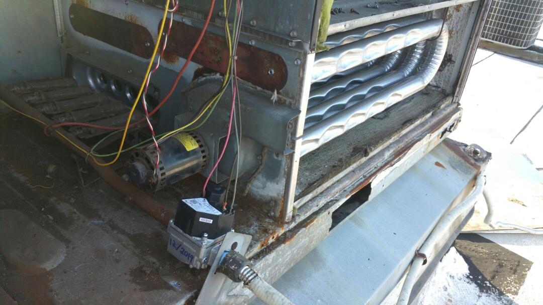 Irvington, NJ - Heat exchanger and gas valve replacement