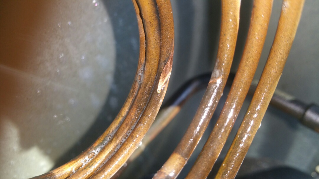 Jersey City, NJ - Refrigeration coil rubbed out no AC call