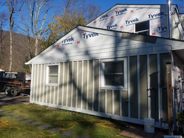 Cold Spring, NY - Currently installing James Hardie FiberCement siding!
