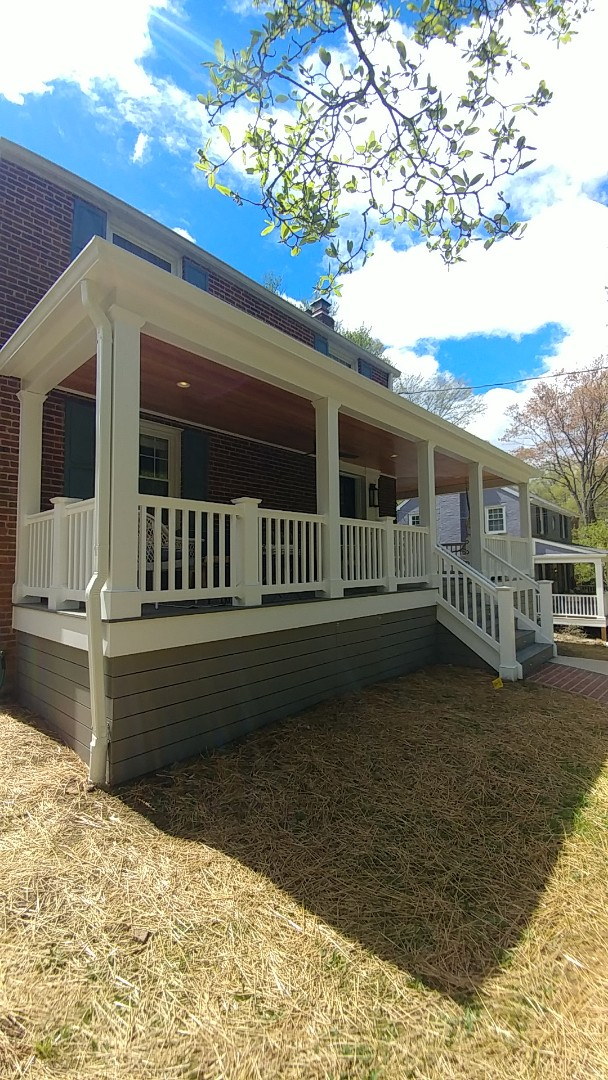 Silver Spring, MD - New wrap around porch in Silver Spring!