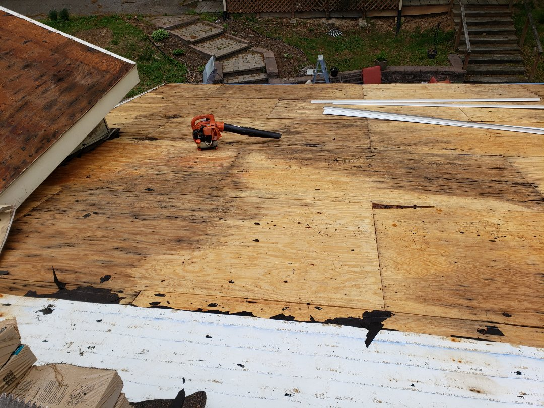 Hanover, MD - Being proactive with replacing your roof can prevent having to replace plywood, which will rot overtime, even when it's not visible in the home. Our roof replacements and repairs are certified also warranted so you can have peace of mind!