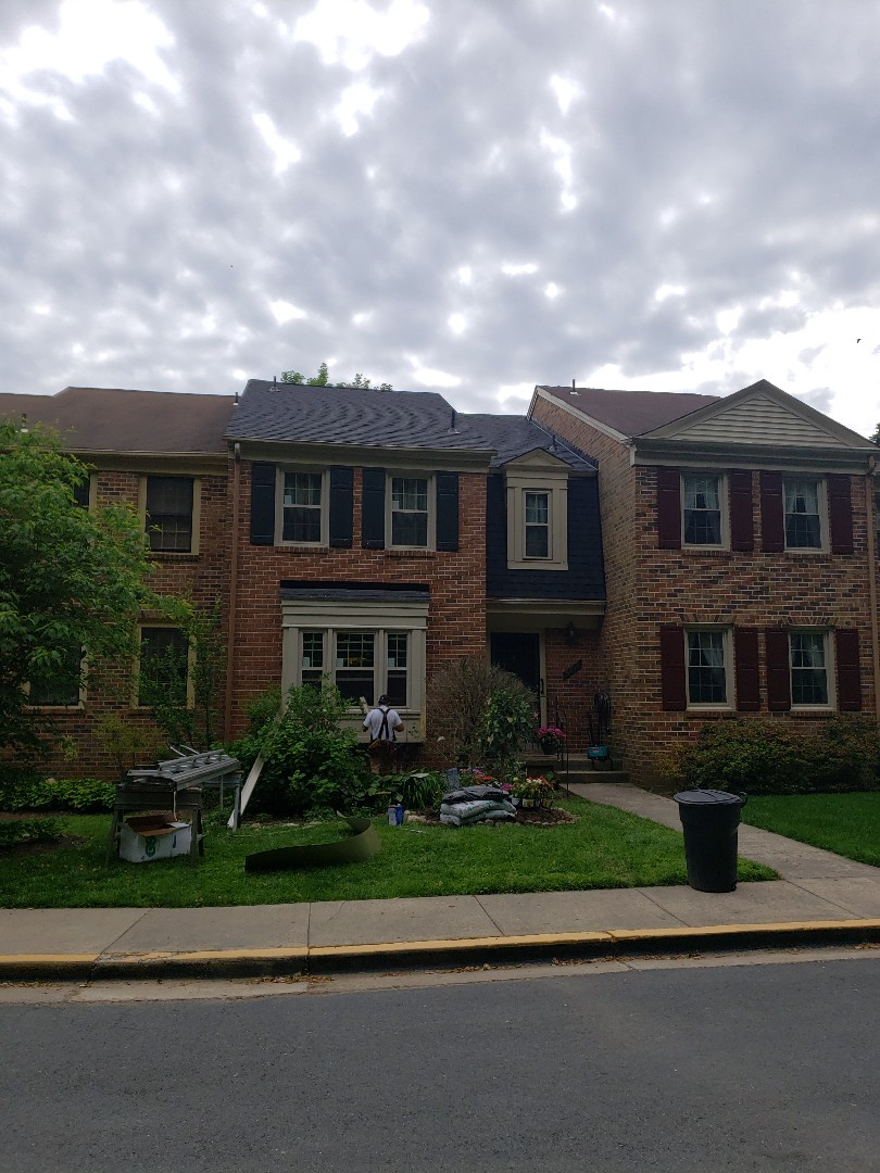 Rockville, MD - New Certainteed roof and now new windows in progress!