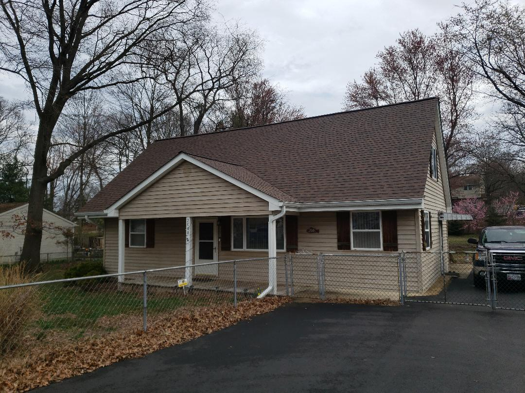 Jessup, MD - Certified 50 year roof replacement! Certainteed heatherblend architectural shingles!