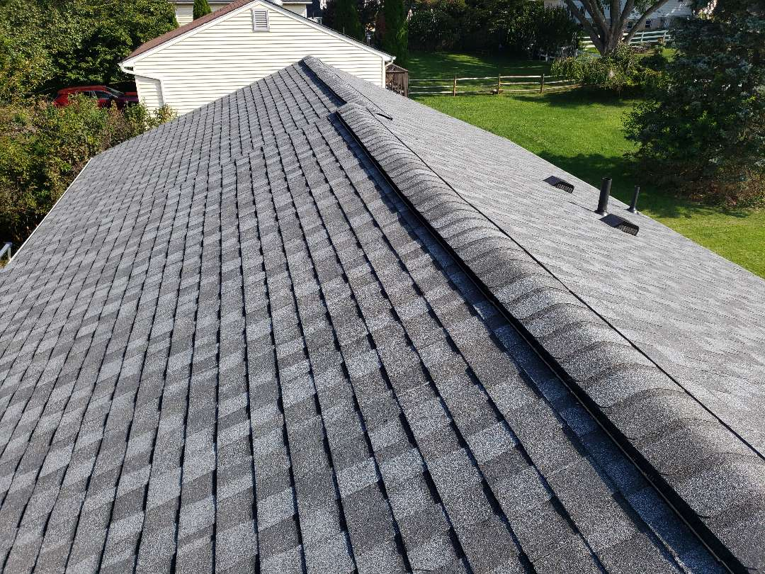 Gaithersburg, MD - 5 star certainteed select shingle master roofing system. Pewter