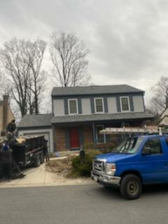Arnold, MD - Landmark by Certainteed. Roof replacement, full tear out. Landmark pro architectural shingles in colonial slate.