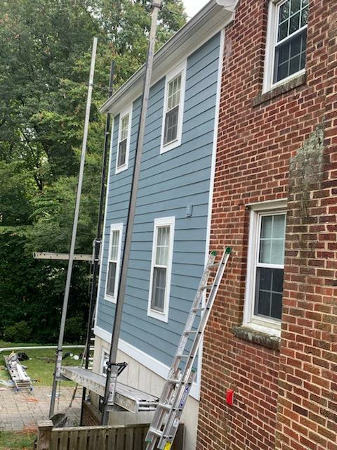 Annapolis, MD - James Hardie lap siding coming from the contractor alliance!