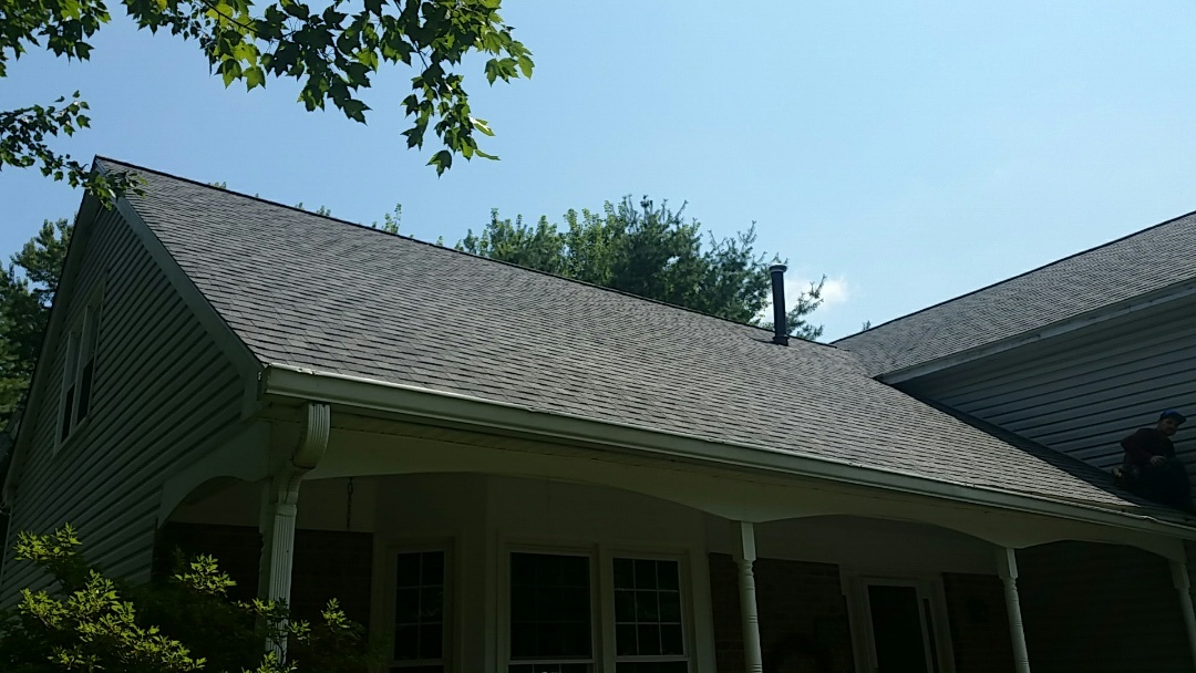 Brookeville, MD - New Certified roofing system by Certainteed!