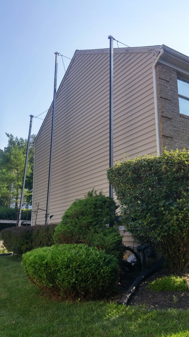Silver Spring, MD - New Williamsport, six inch beaded, vinyl siding from Alside