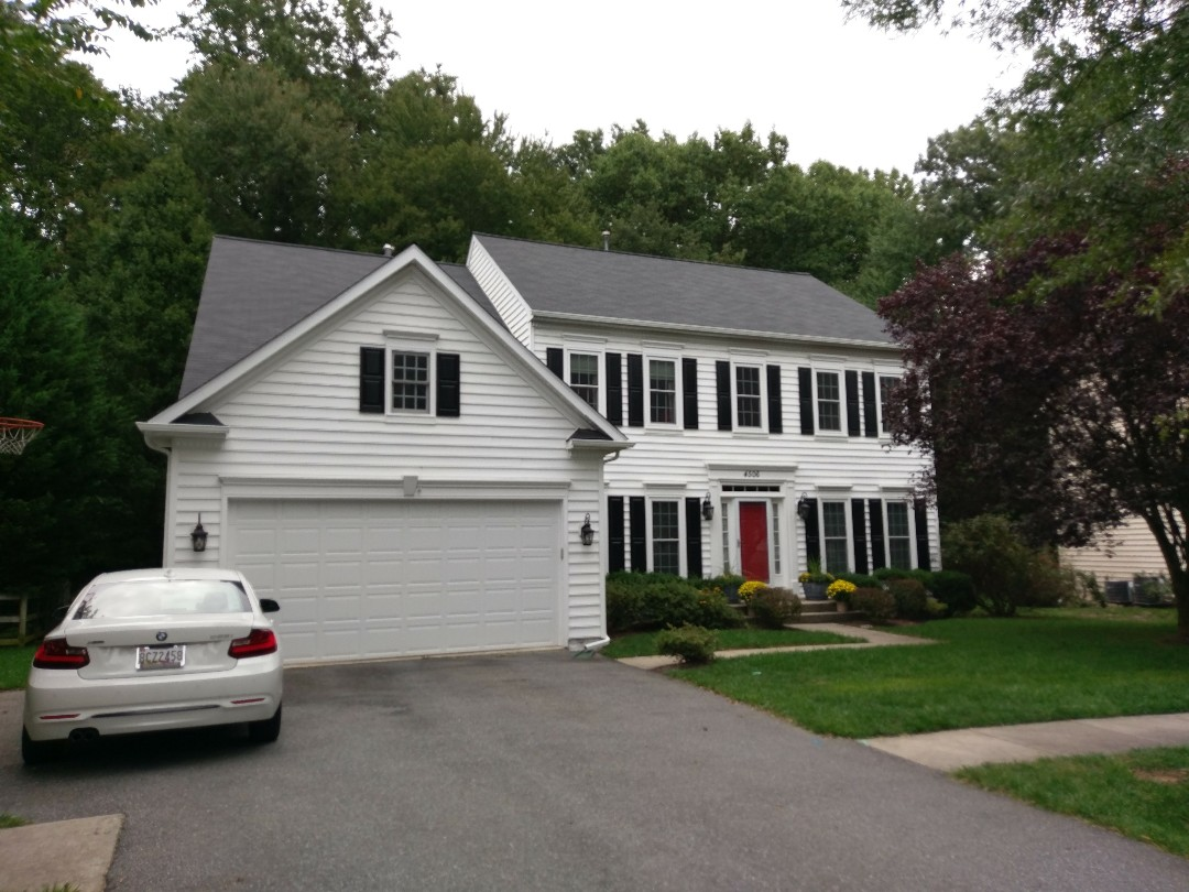 Olney, MD - Brand new Certified Certainteed xt25 roofing system and heavy gauge gutters.